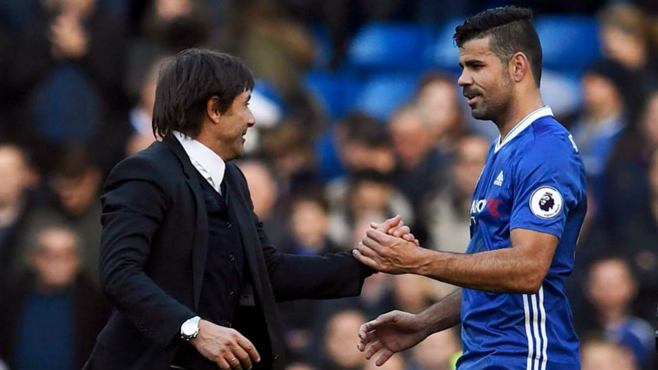Conte membantah alasan mencoret Costa dari skuad Chelsea
