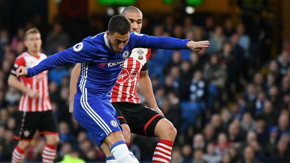 Hazard kembali menjadi sosok inspiratif dalam kemenangan Chelsea