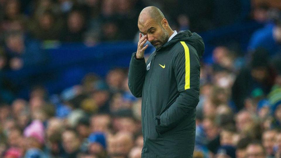 Manajer Pep Guardiola akui permainan bertahan Everton sangat menyulitkan