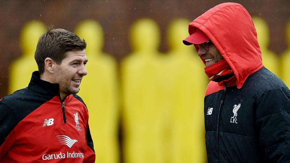 Klopp akui akan bantu Gerrard meraih mimpi